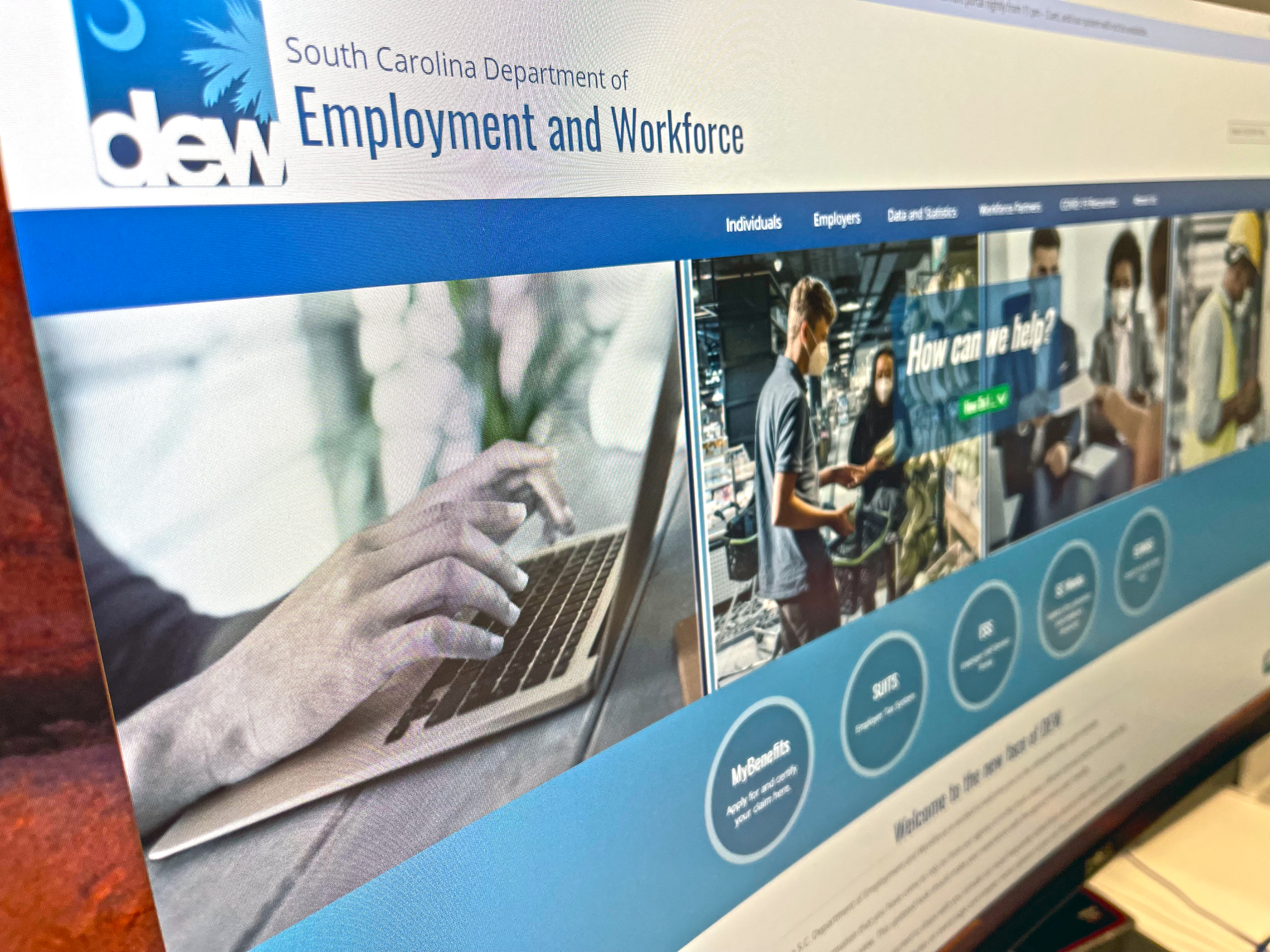South Carolinians are required to complete job searches online again