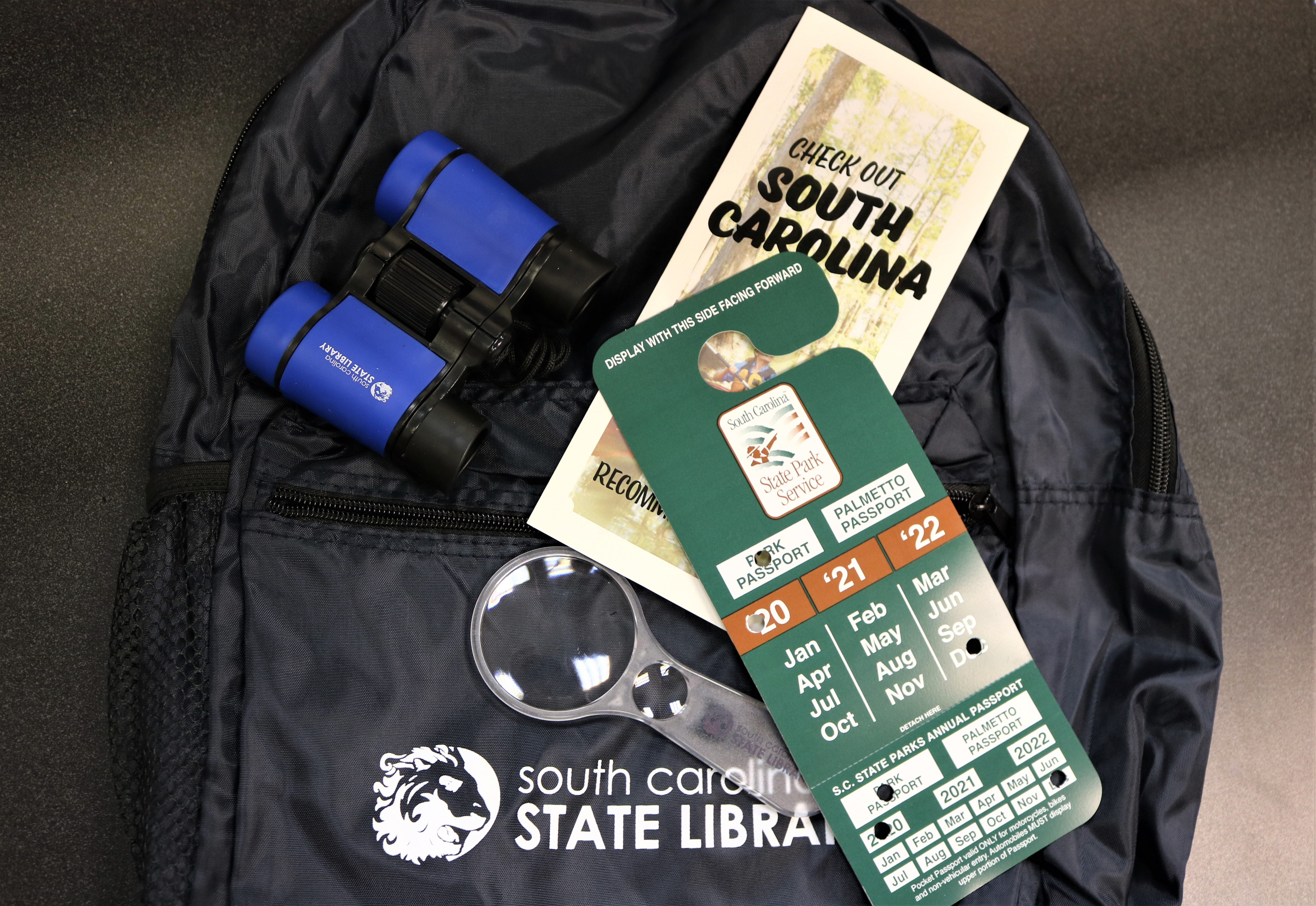 Visit SC State Parks for free with CCPL Exploration Kits