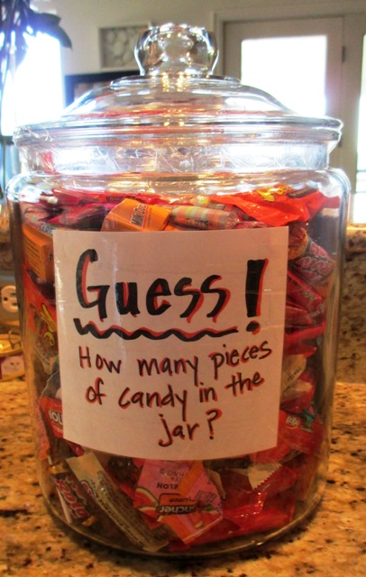 Candy Guessing Jar | Charleston County Public Library