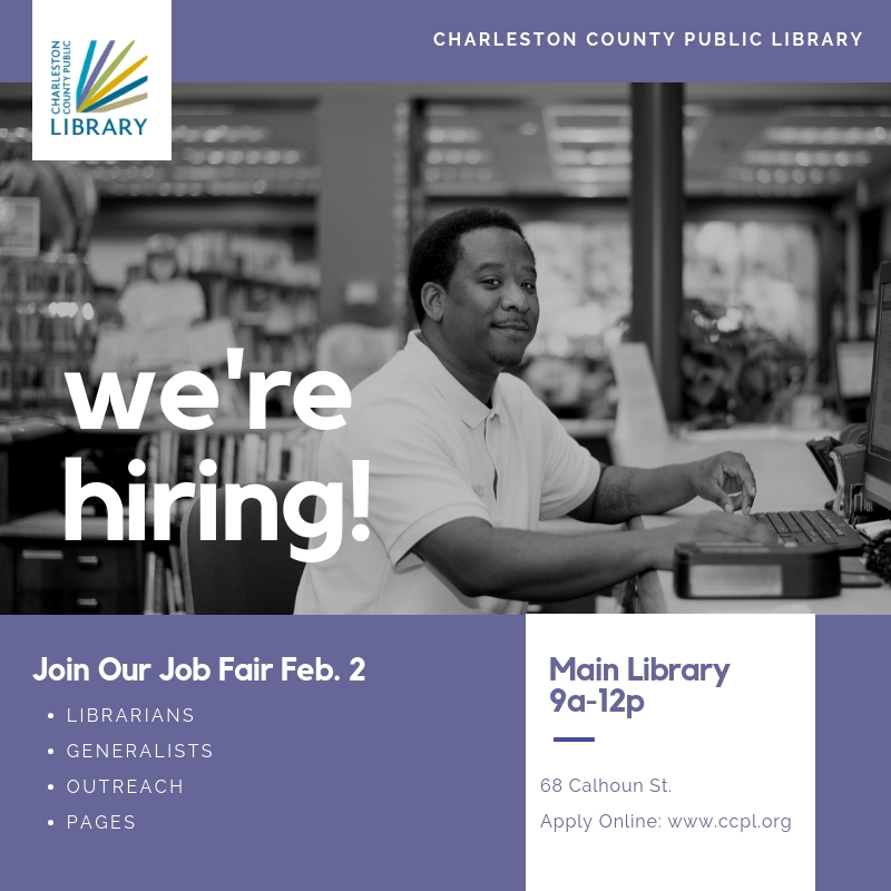 Job Fair Feb 2 at Main Library