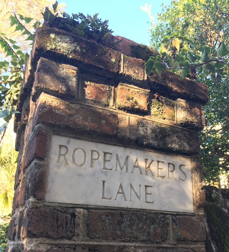 Ropemakers Lane sign