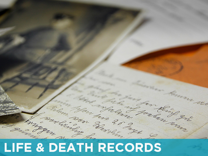 SC History - Life and Death Records