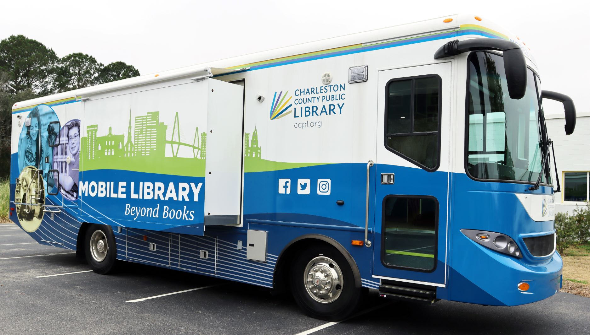 CCPL celebrates National Library Week and Library Outreach Day with pop-up events, outreach programs, social media giveaways, and more