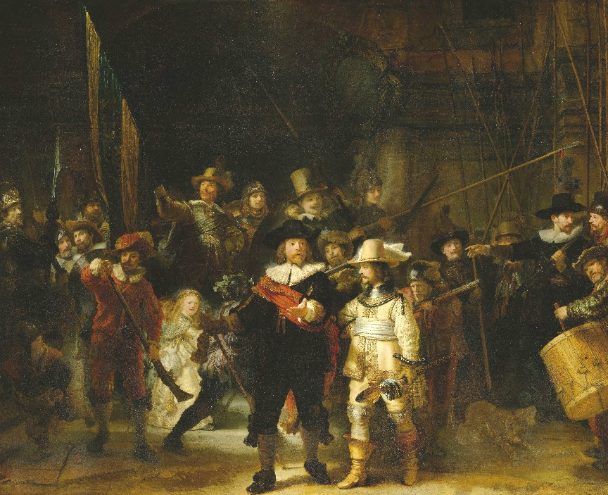 "Rembrandt's ""The Nightwatch"""