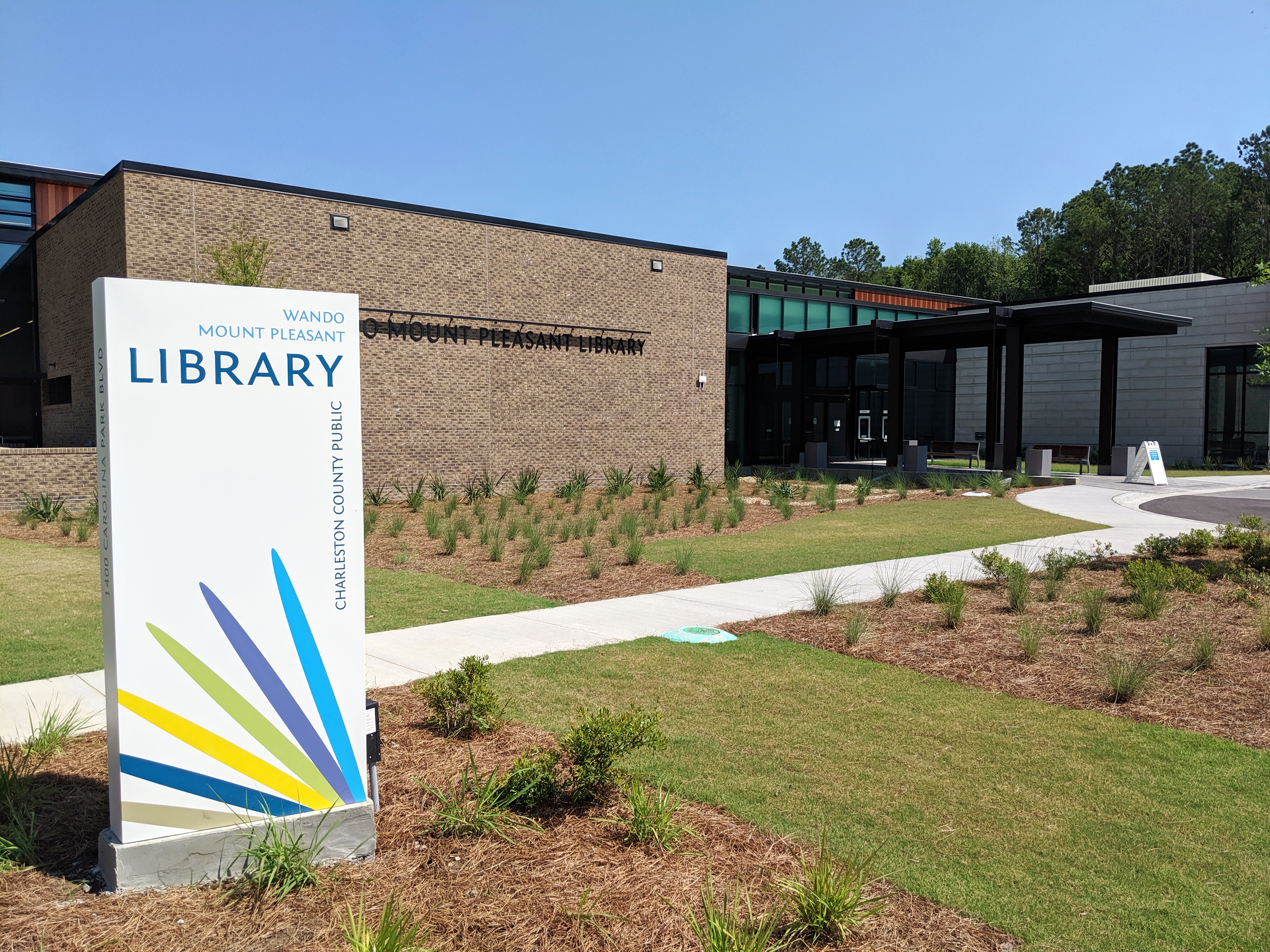 Wando Mount Pleasant Library awarded in annual architecture design awards