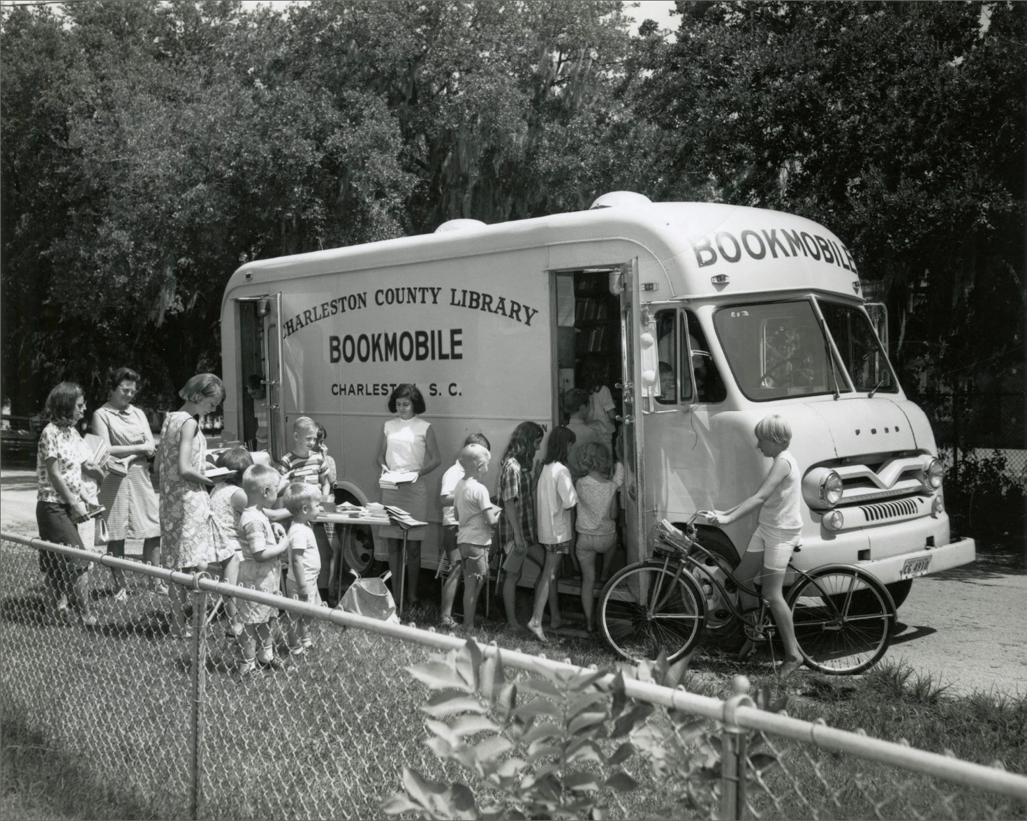Charleston County's Mobile Library Service, 1931–2021