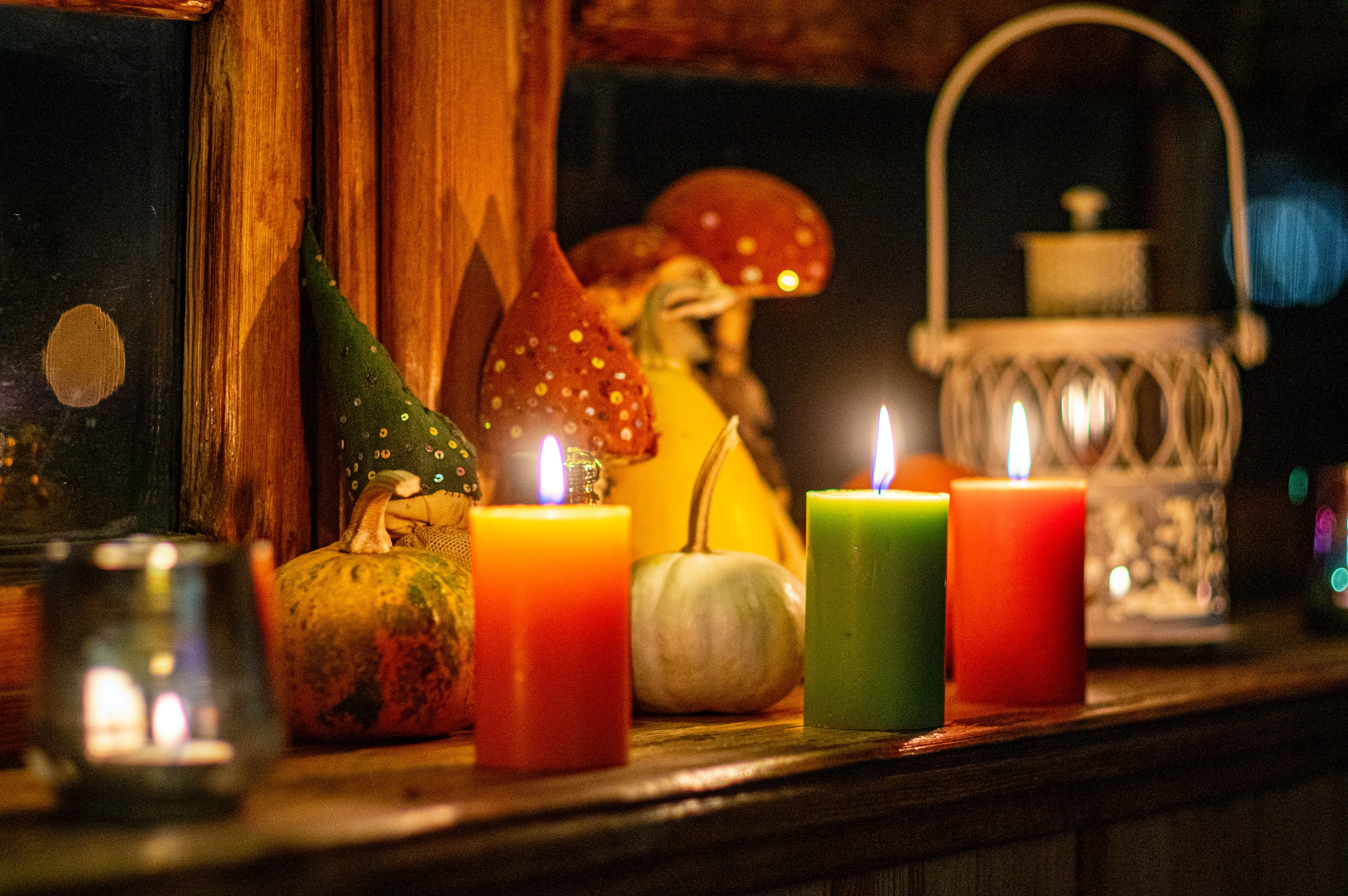 Virtual Halloween Candle Holder