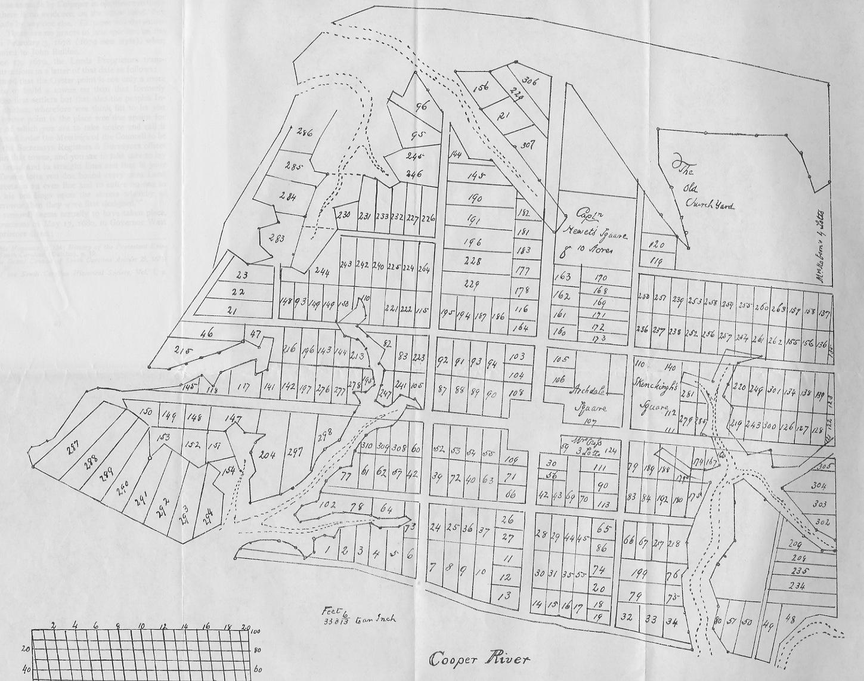 "An early twentieth century copy of the ""Grand Model"" of Charleston, created ca. 1672"