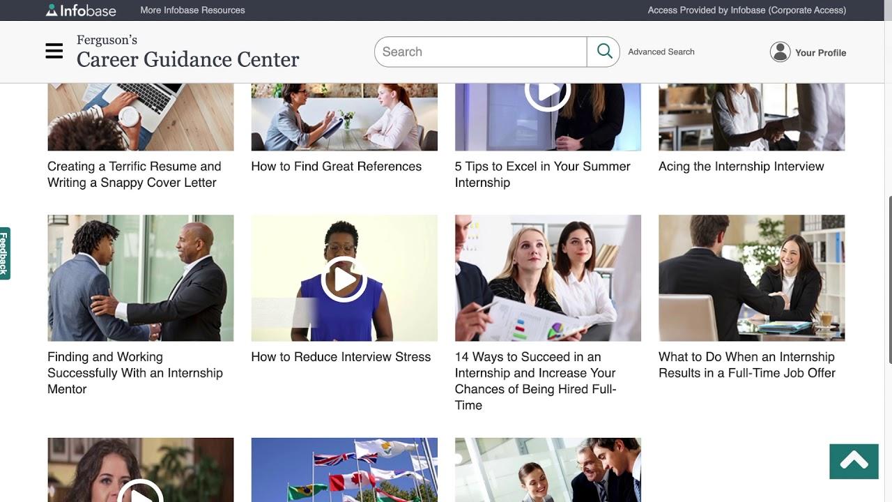 Spotlight on new jobseeker resource: Ferguson's Career Guidance Center