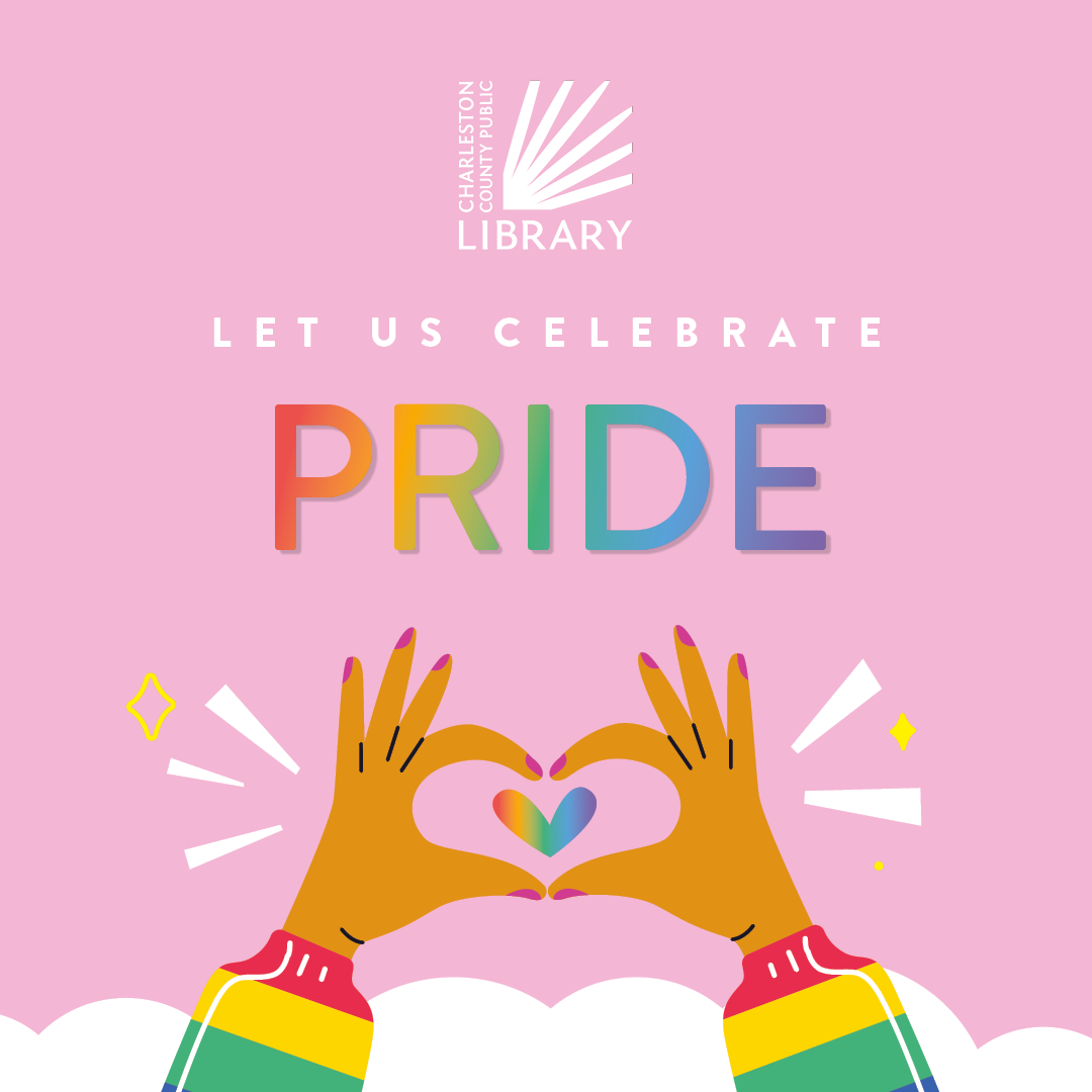 Read the Rainbow with CCPL this PRIDE Month
