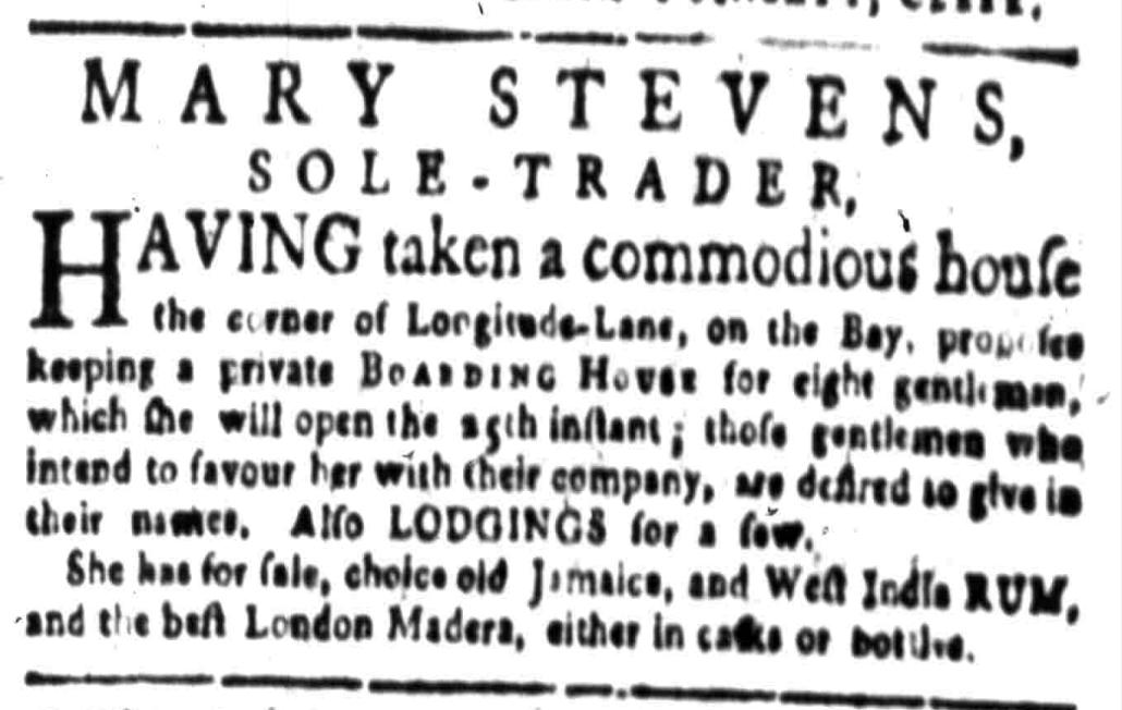South-Carolina Gazette, 11 July 1768