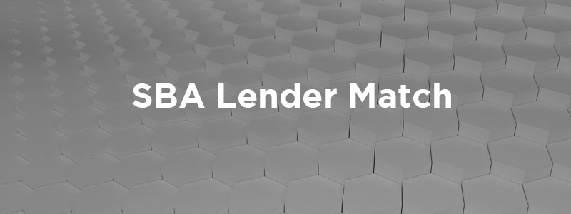 The Small Business Administration Lender Match
