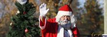 Christmas parade preparations