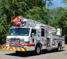 St. John's Fire District truck