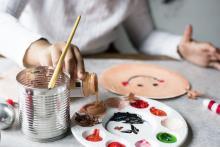 Teen painting craft