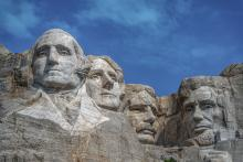 Mount Rushmore, presidents, presidents' day