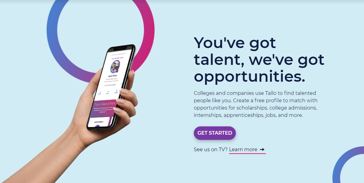 New app from South Carolina-based tech company Tallo matches students with colleges, jobs